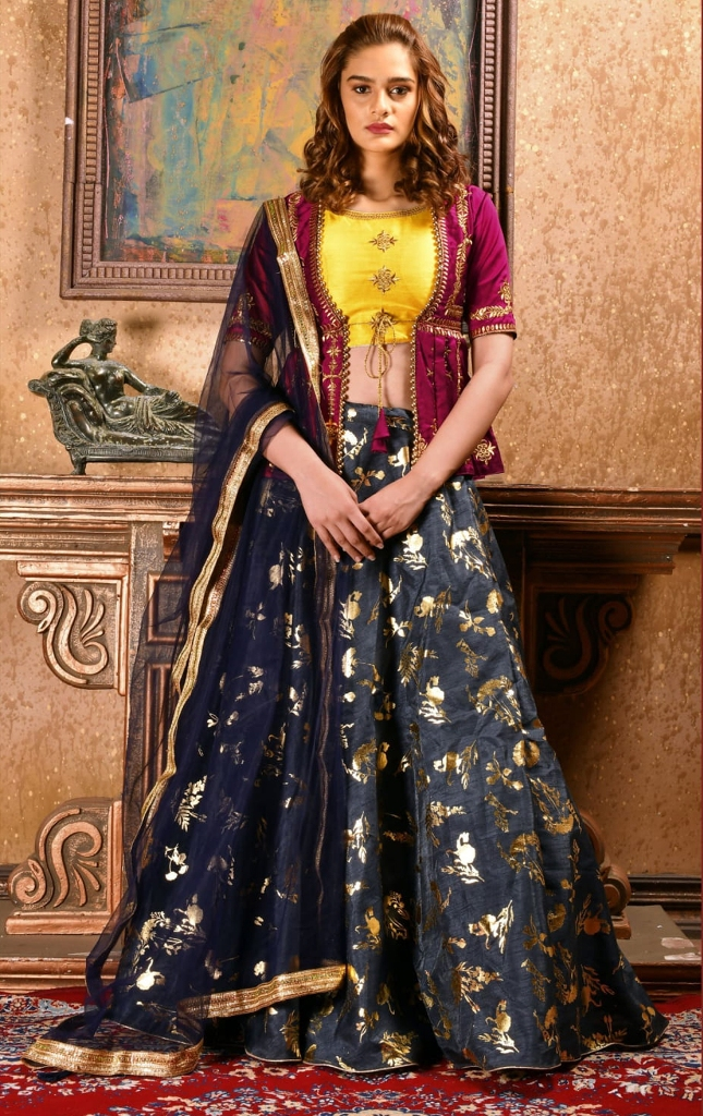 Party Designer Embroidery sequins work Lehenga