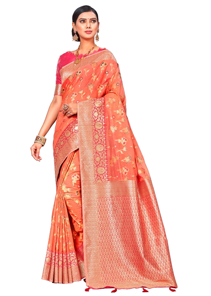 This Festive Season Look The Most Elegant Of All Wearing This Designer Silk based Saree