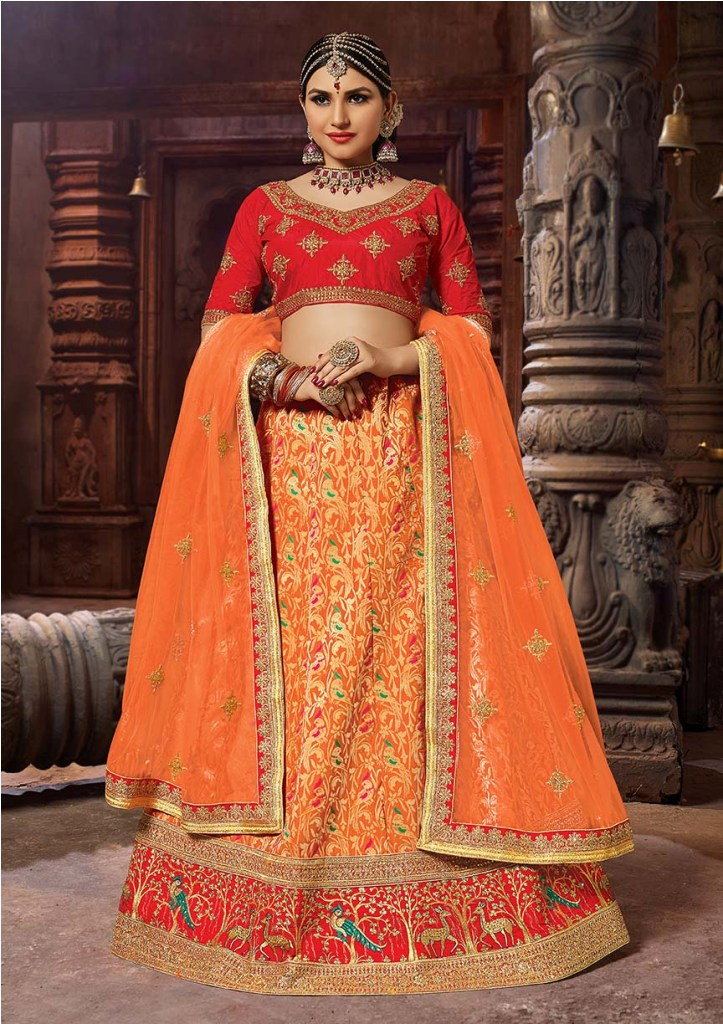 Evergreen Traditional Color Pallete Is Here With This Designer Lehenga Choli