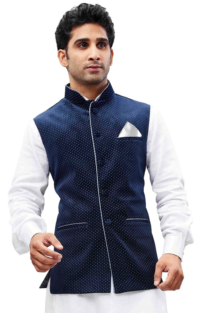 Grab This Designer Modi/Nehru Style Jacket For The Upcoming Festive And Wedding Season
