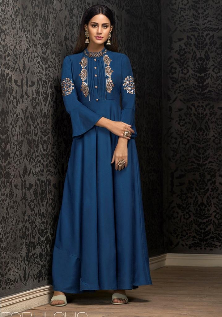 Enhance Your Personality Wearing This Designer Readymade Gown