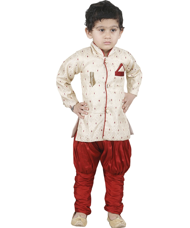 This Festive Season Give Your Child A Cute Traditional Look Wearing This Designer Readymade Sherwani