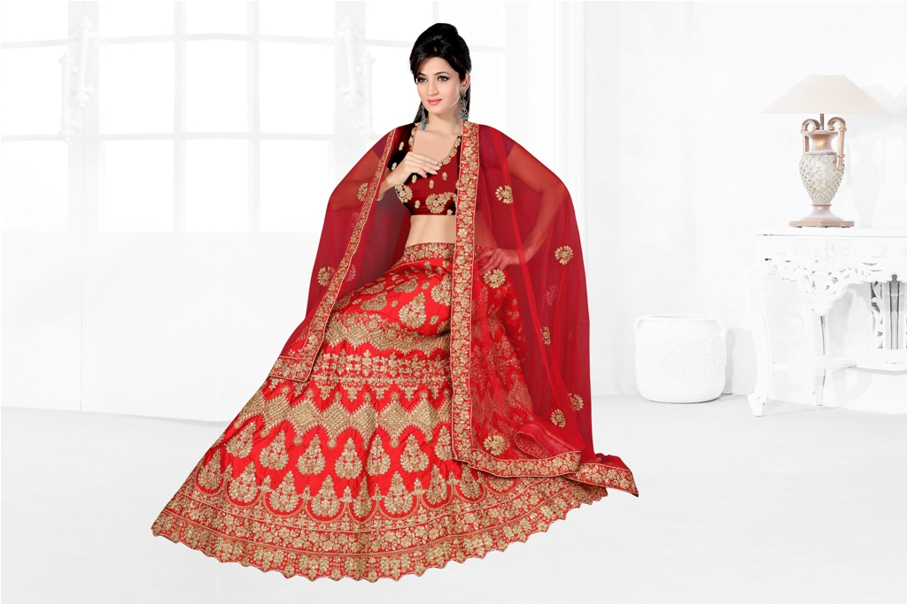 Flaunt Your Rich And Elegant Taste With Some Subtle Color Pallet In Your Bridal Wear
