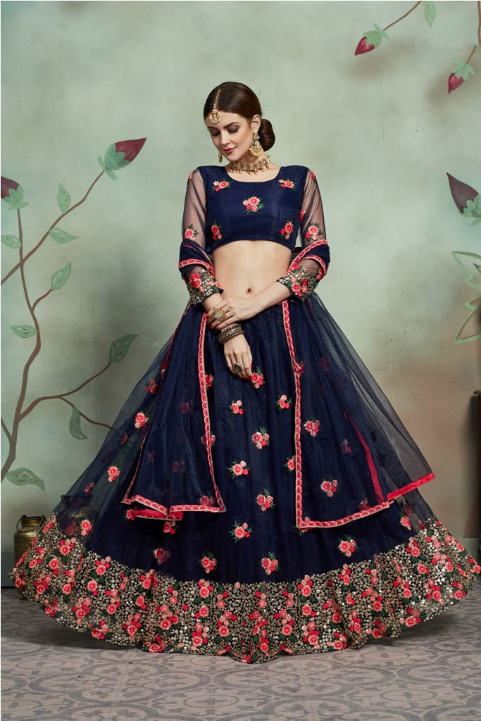 Get Ready For Your Big Day With This Heavy Designer Lehenga Choli