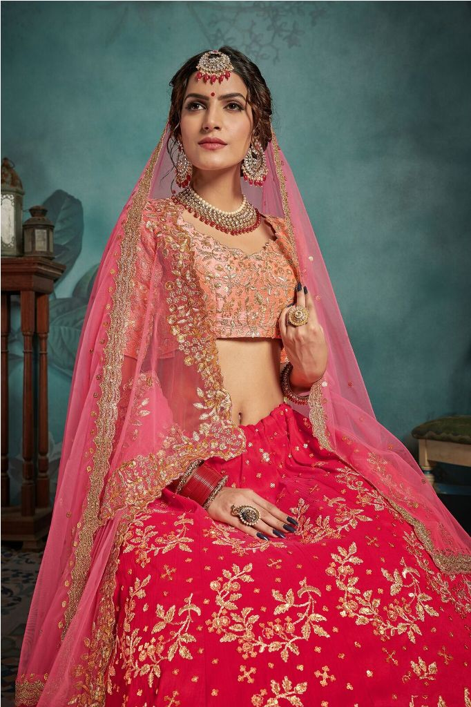 New And Unique Color Combination Is Here With This Heavy Designer Lehenga Choli