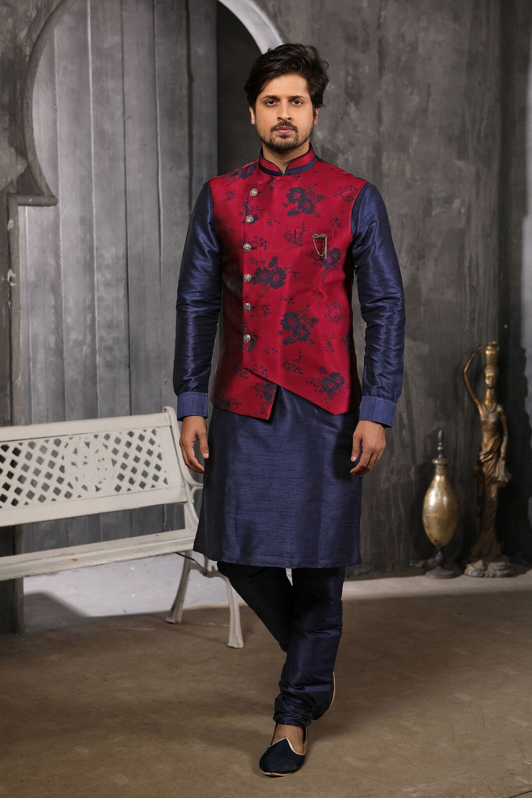 Indowestrn wedding and partywear stylish mens wear