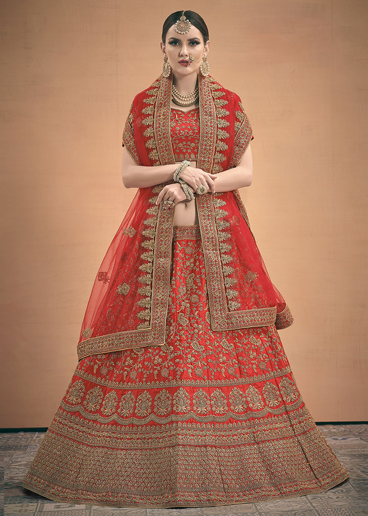 Adorn The Pretty Angelic Look Wearing This Designer Lehenga Choli