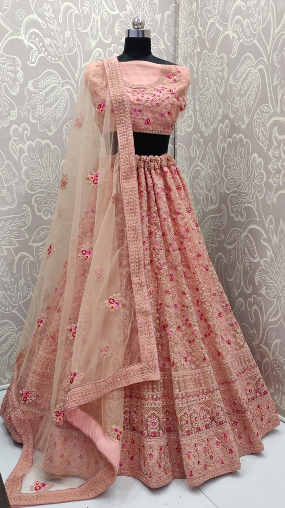 The Most Graceful Of All Wearing This Heavy Designer Lehenga Choli