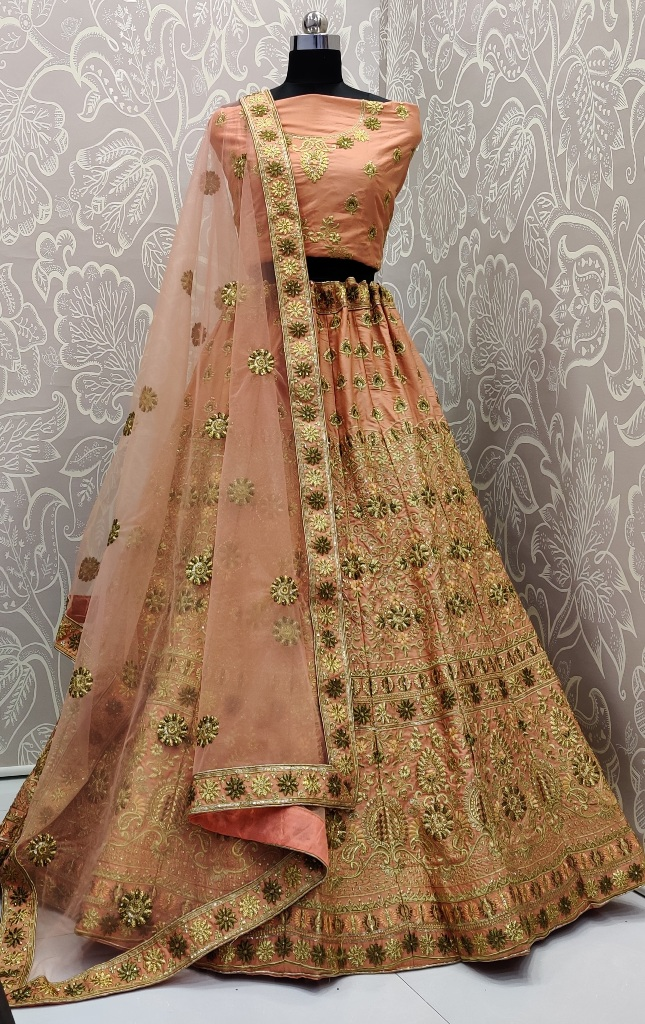 Get Ready For The Upcoming Wedding Season With This Very Pretty Heavy Embroidered Designer Lehenga Choli