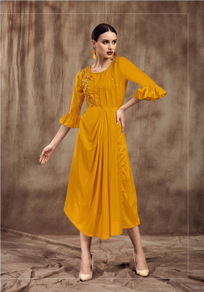 Simple And Elegant Looking Readymade Straight Kurti