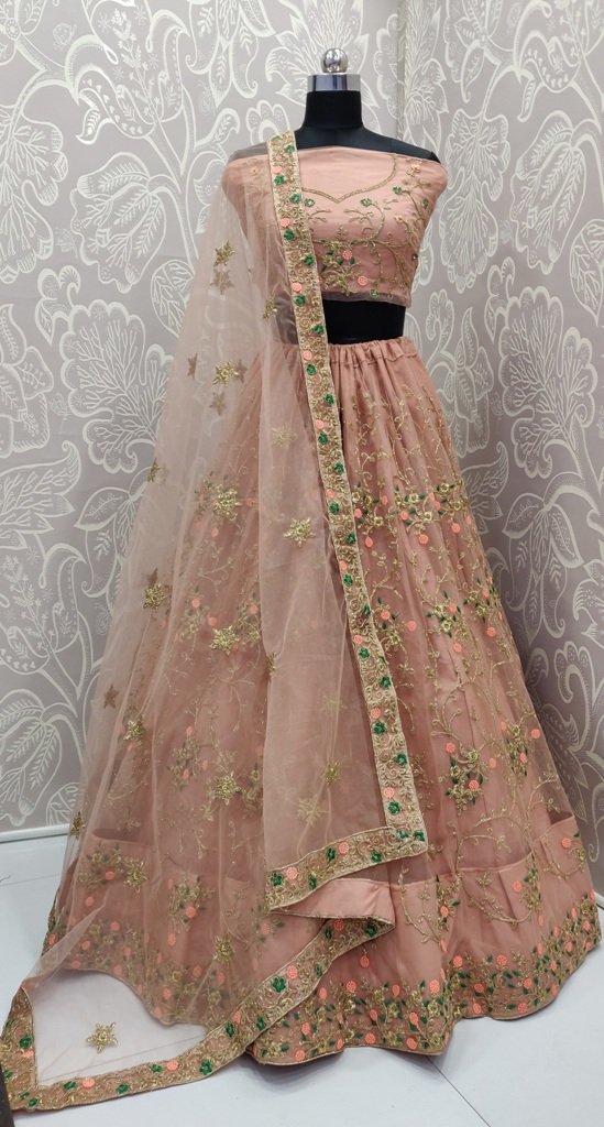 Earn Lots Of Compliments Wearing This Heavy Designer Lehenga Choli