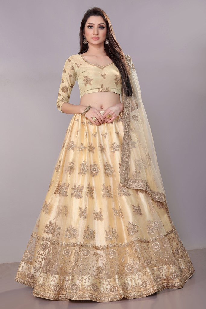 Graceful Of All Wearing This Heavy Designer Elegant Lehenga Choli