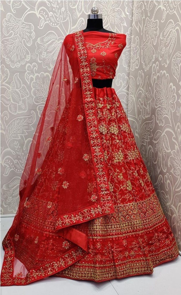 Look The Most Elegant Of All This Wedding Season Wearing This Heavy Designer Lehenga Choli