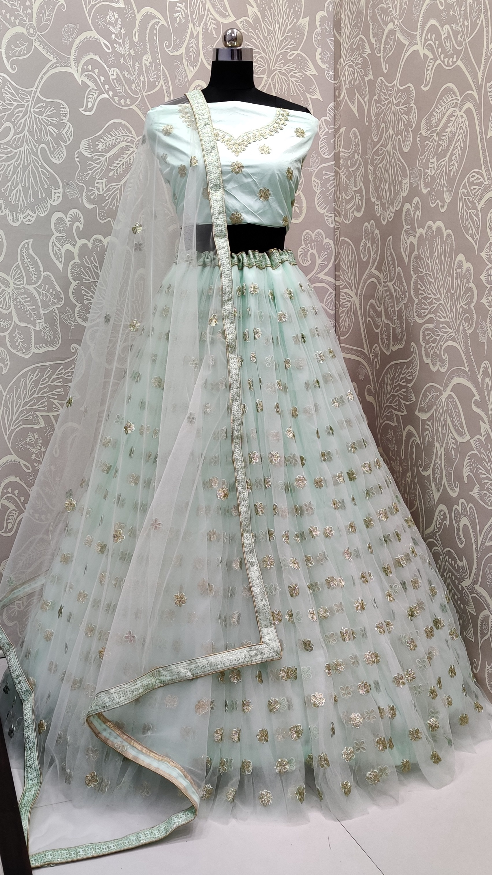Get Ready For The Upcoming Wedding Season With This Very Beautiful Designer Lehenga Choli