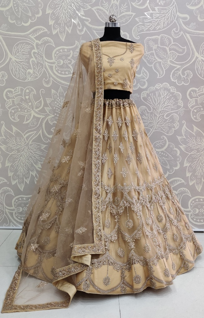 The Most Elegant Of All This Wedding Season Wearing This Heavy Designer Lehenga Choli