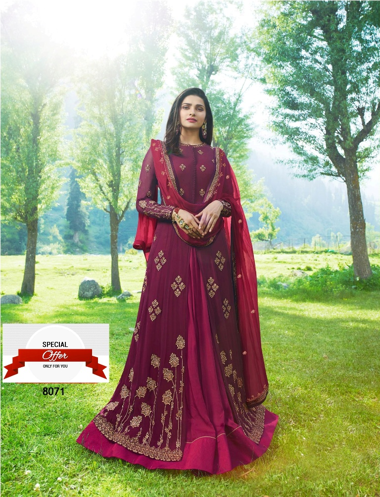 beautyfull Zari resham embroidery shut