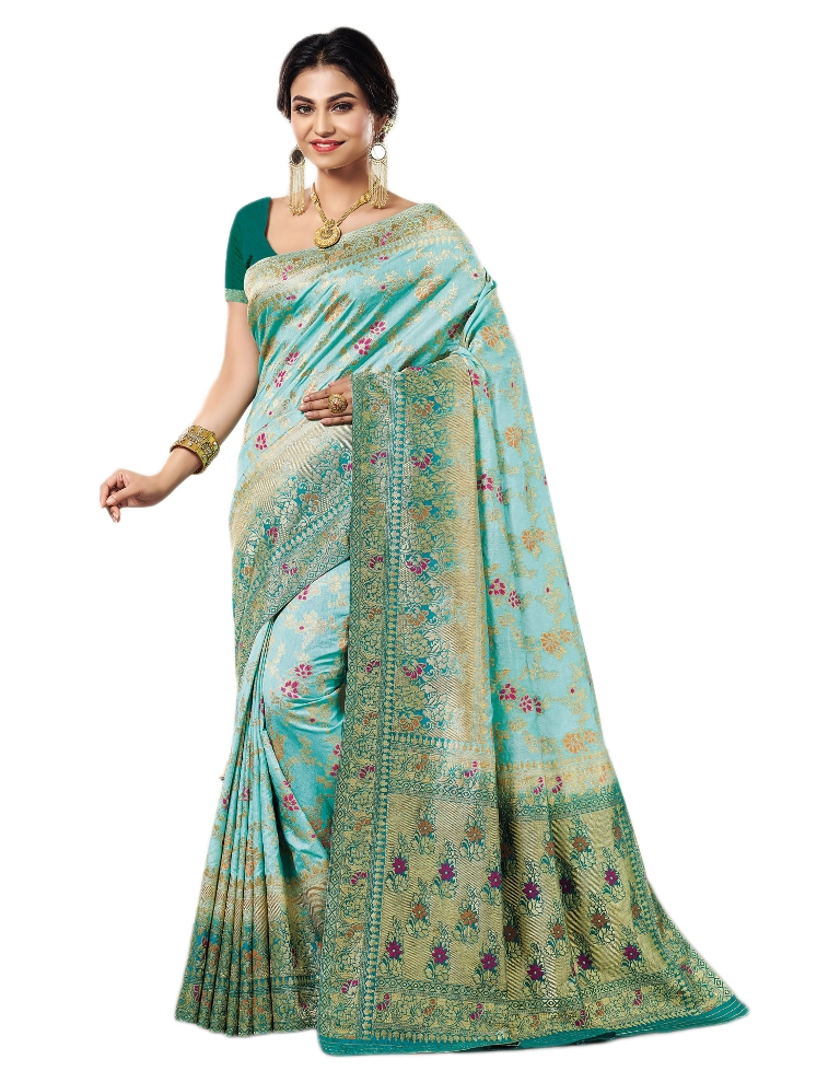 Get Ready For The Upcoming Festive And Wedding Season Wearing This kanjivaram silk Saree