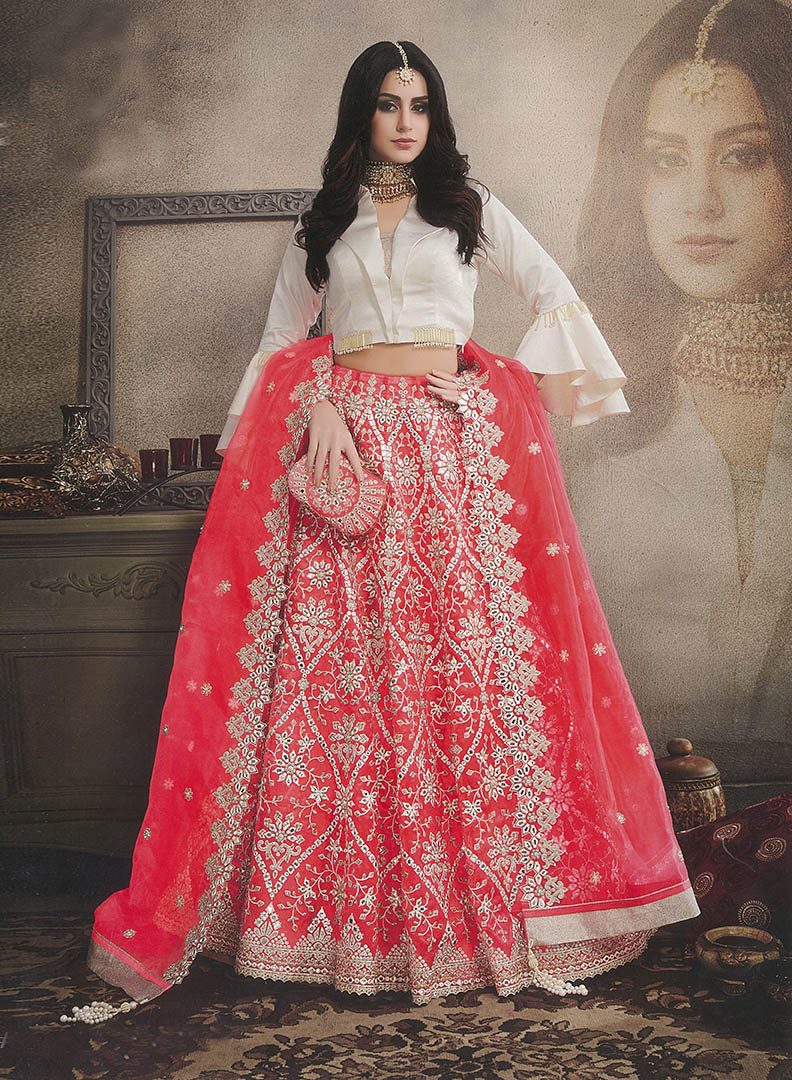 The Most Amazing Of All Wearing This Heavy Designer Lehnega Choli