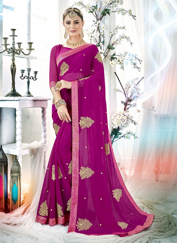 A Must Have Shade In Every Womens Wardrobe Is Here With This Designer Saree